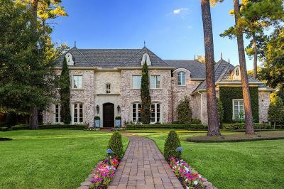 Bunker Hill Village Single Family Home For Sale: 11710 Forest Glen Street Street