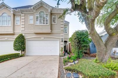 Houston Condo/Townhouse For Sale: 2404 Hazard Street