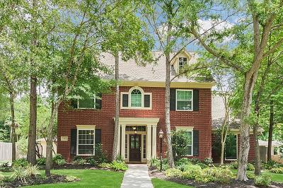 The Woodlands Single Family Home For Sale: 19 Smokestone Drive