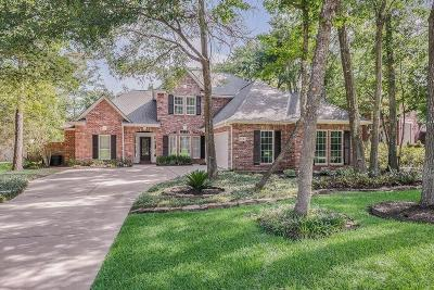 The Woodlands Single Family Home For Sale: 122 W Shadowpoint Circle