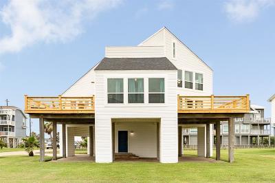 Galveston Single Family Home For Sale: 17632 Glei