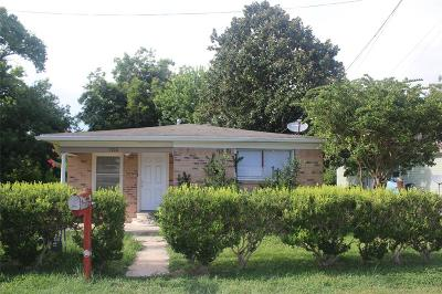 Texas City Single Family Home For Sale: 5710 Hobgood Avenue