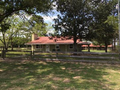Harris County, Waller County, Grimes County, Fort Bend County, Washington County, Montgomery County Farm & Ranch For Sale: Fm 1488