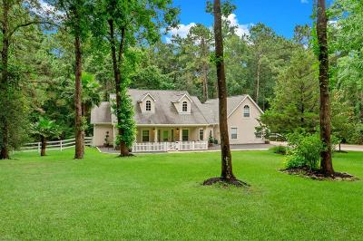 Magnolia Single Family Home For Sale: 1818 Country Creek Court