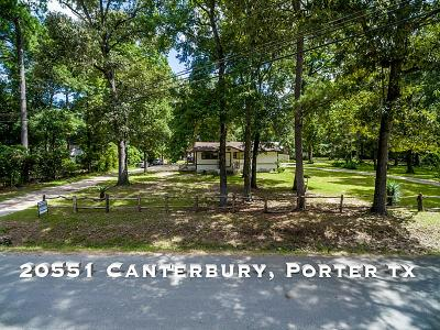 Porter Single Family Home For Sale: 20551 Canterbury Road