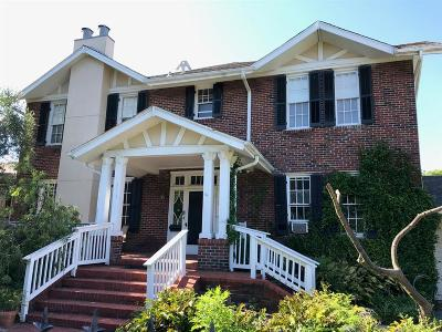 Galveston Single Family Home For Sale: 3101 Avenue O