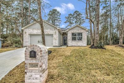 Willis Single Family Home For Sale: 12419 Maverick Court