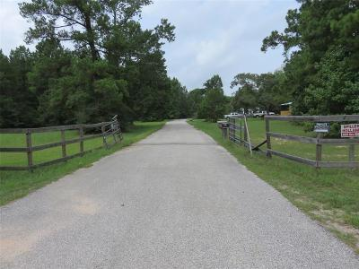 Conroe Farm & Ranch For Sale: 6883 Longmire Road
