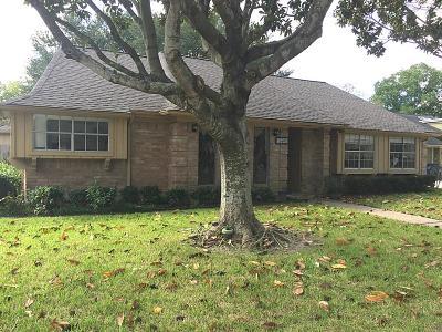 Houston Single Family Home For Sale: 15603 Oldridge Drive