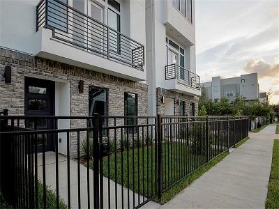 Houston Single Family Home For Sale: 5703 Larkin #C