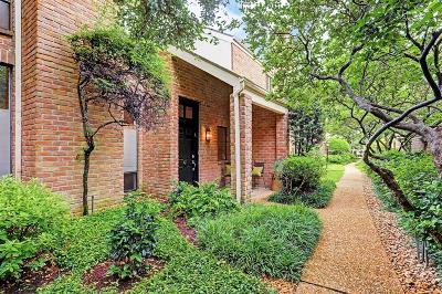 Houston Condo/Townhouse For Sale: 2901 Bammel Lane #47