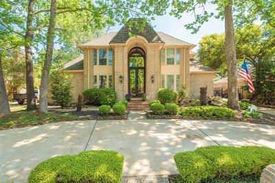 Kingwood Single Family Home For Sale: 4822 River Hill Drive