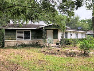 Dickinson Single Family Home For Sale: 2319 Hollywood Street