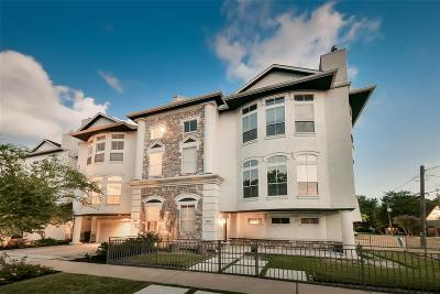 Houston Condo/Townhouse For Sale: 1219 Kipling Street