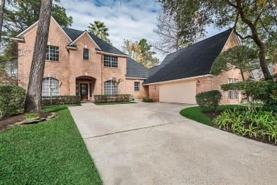 The Woodlands Single Family Home For Sale: 95 Split Rock Road