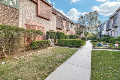 Houston Condo/Townhouse For Sale: 830 Threadneedle Street #238