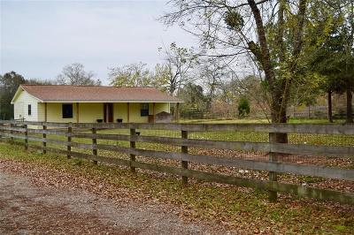 Hockley Single Family Home Option Pending: 25356 Brushy Creek Drive