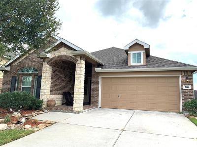 Alvin Single Family Home For Sale: 4722 Lake Rim Drive