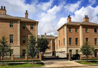 Houston Condo/Townhouse For Sale: 2178 Briarglen Drive