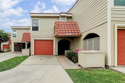 Galveston Condo/Townhouse For Sale: 7 Dana Drive