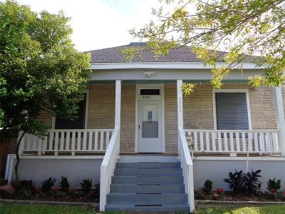 Galveston Single Family Home For Sale: 3705 Avenue M 1/2