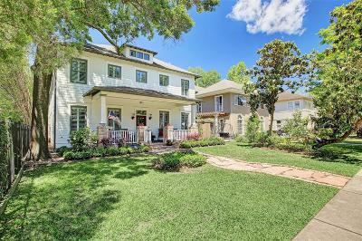 Houston Single Family Home For Sale: 1843 Harvard Street