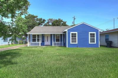 Galveston Single Family Home For Sale: 104 Pompano Avenue