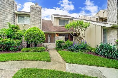 Houston Condo/Townhouse For Sale: 11677 Village Place Drive #255