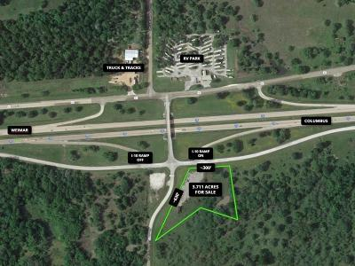 Weimar Residential Lots & Land For Sale: 3062 Frontage Rd And Hattermann Ln Road