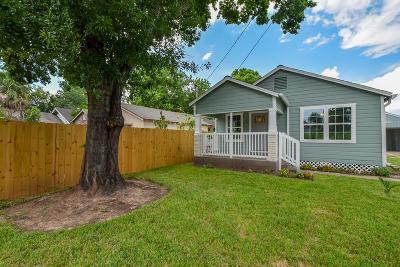 Houston Single Family Home For Sale: 1308 Idylwild Street