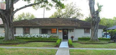 Houston Single Family Home For Sale: 4019 Chatham Lane