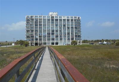 Galveston Mid/High-Rise For Sale: 415 E Beach Drive #104