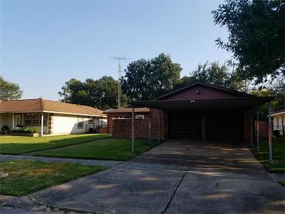 Pasadena Single Family Home For Sale: 3310 Cedarcrest Drive