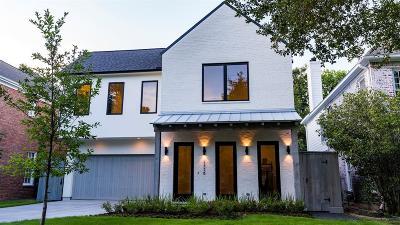 Houston Single Family Home For Sale: 4138 Villanova Street
