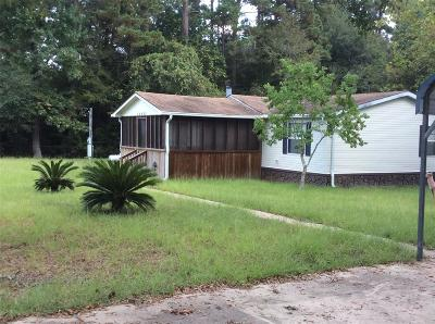 Montgomery Single Family Home For Sale: 24495 Reed Road