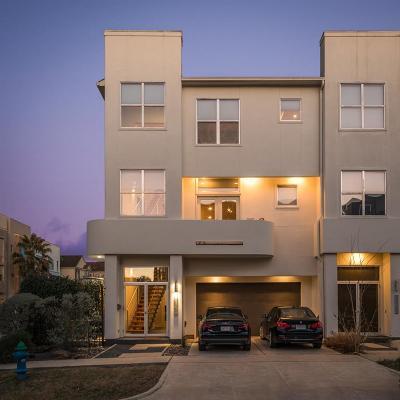 Houston Condo/Townhouse For Sale: 4419 Floyd Street #A