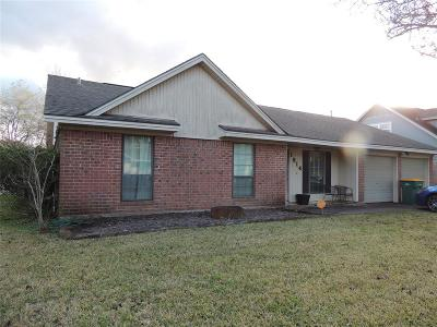 Pearland Single Family Home For Sale: 1814 Lazy Creek Lane