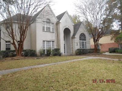 Kingwood Single Family Home For Sale: 1510 Lofty Maple Trail