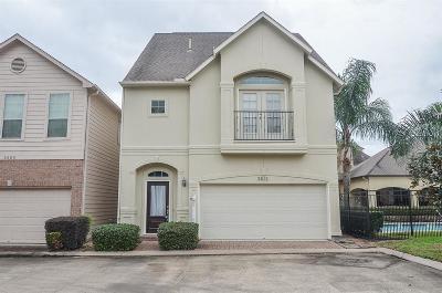 Houston Single Family Home For Sale: 2611 Capewalk Drive