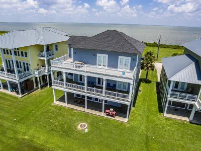 Galveston Single Family Home For Sale: 26735 Bay Water Drive