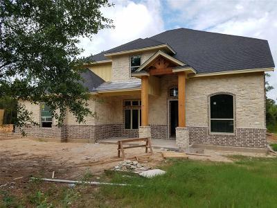 Montgomery Single Family Home For Sale: 11550 Sebastians Run