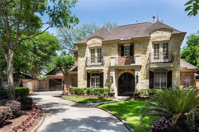 Houston TX Single Family Home For Sale: $1,395,000