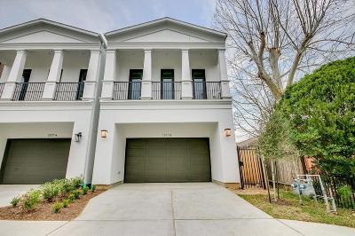 Houston Single Family Home For Sale: 1517 Alexander #B