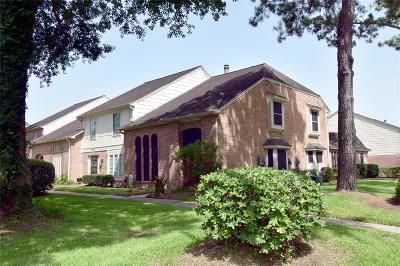 Houston TX Condo/Townhouse For Sale: $129,900
