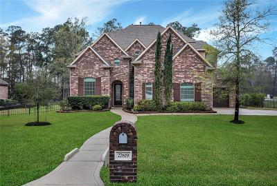 Spring Single Family Home For Sale: 27819 Golden Oak Chase Court