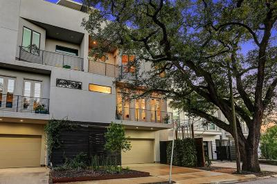 Houston Condo/Townhouse For Sale: 1405 B Vermont Street