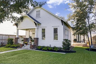 Houston Single Family Home For Sale: 322 W 24th Street