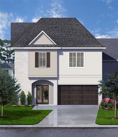 Houston Single Family Home For Sale: 1512 Johanna Dr