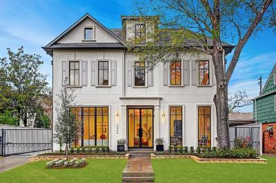 River Oaks Single Family Home For Sale: 3464 Locke Lane