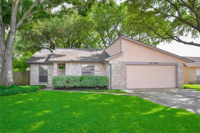 Houston Single Family Home For Sale: 18739 Clover Glen Lane